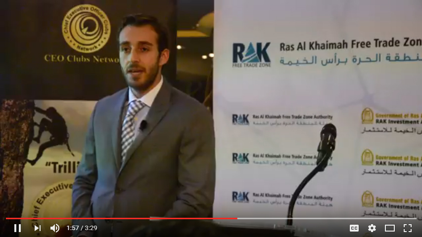 Ras Al Khaimah Free Trade Zone Authority and CEO Clubs Special Dinner Meeting