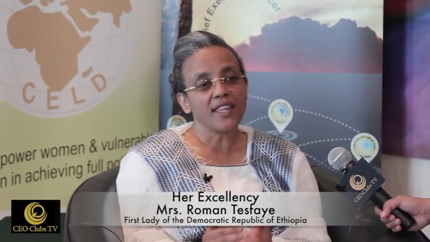 SAMEAWS 2016 With HE Mrs. Roman Tesfaye, First Lady of the Democratic Republic of Ethiopia
