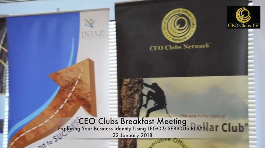 "CEO Clubs Breakfast Meeting ""Exploring Your Business Identity Using LEGO® SERIOUS PLAY®"""